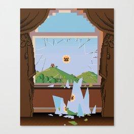 The Angry Sun Canvas Print