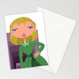 Vertigo Kim Novak Stationery Cards