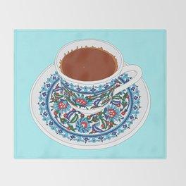 Turkish Coffee Throw Blanket