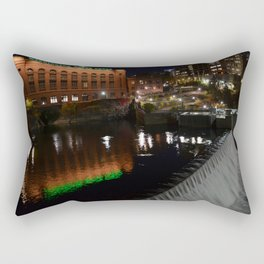 Mooned Abysses of Night Rectangular Pillow