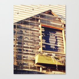 Watchful Owl Canvas Print