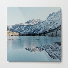 Winter At Silver Lake Metal Print