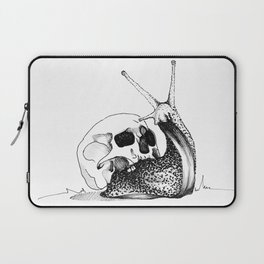 This Skull Is My Home Laptop Sleeve