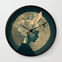 Moonlight Lady Wall Clock