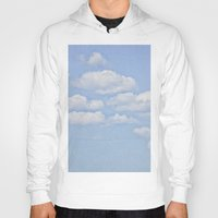 clouds Hoodies featuring Clouds by Pure Nature Photos