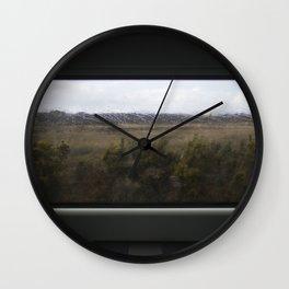 Leaving Dublin by Train Wall Clock