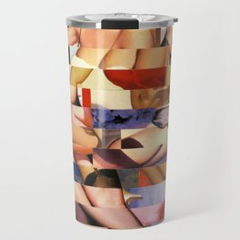 Glitch Pin-Up Redux: Taylor & Tiffany Travel Mug