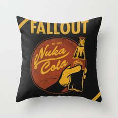 Nuka Cola Throw Pillow