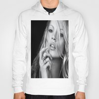 kate moss Hoodies featuring KATE MOSS by I Love Decor