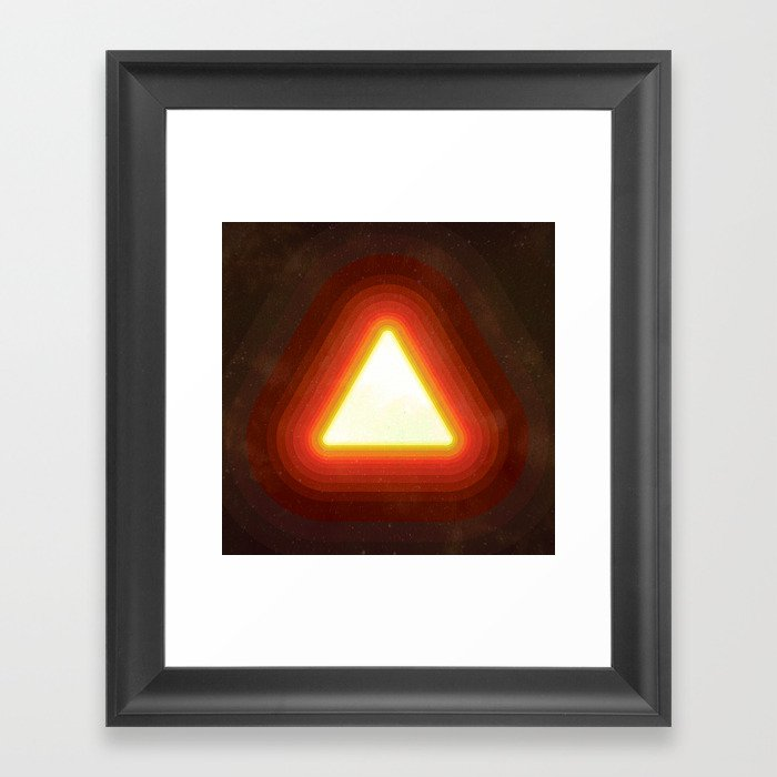Fire II Framed Art Print