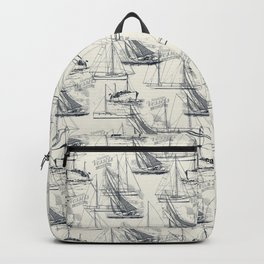 sailing the seas mode Backpack