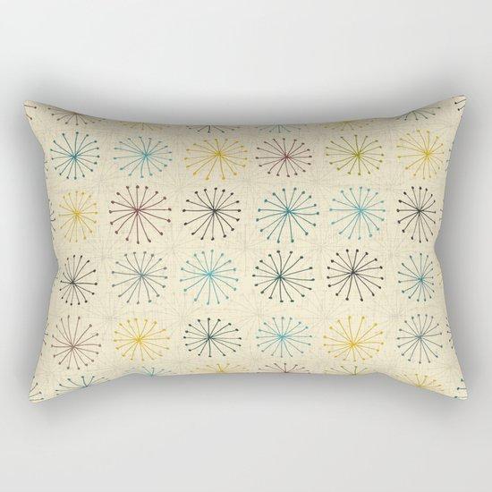 seedheads cream Rectangular Pillow