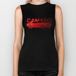 Chevrolet Camaro SS -classic red - Biker Tank