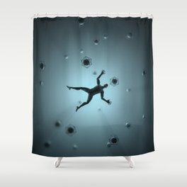 Obsolete Shower Curtain