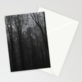 b&w woods Stationery Cards