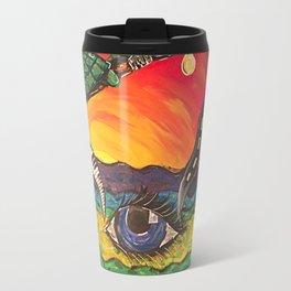Melting Paint Travel Mug
