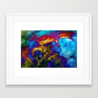 phoenix Framed Art Prints featuring Phoenix by George Michael