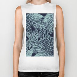 Tropical Leaves Vibes #2 #tropical #foliage #decor #art #society6 Biker Tank
