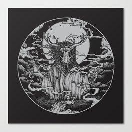 DREAMTIME - BLACK Canvas Print