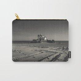 Beach Chapel (B&W) Carry-All Pouch