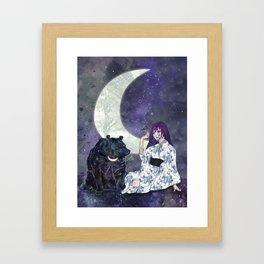 Tsukina Waguma Framed Art Print