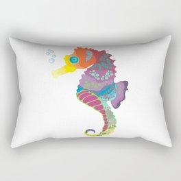 Sea me! I'm a beautiful Seahorse Rectangular Pillow