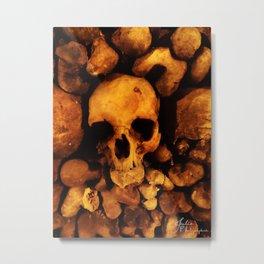 catacomb in Paris Metal Print