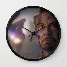 I Am Iron Man Wall Clock