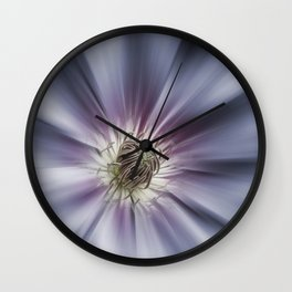 Blue Satin Wall Clock
