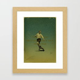 Preston North End - Finney Framed Art Print