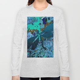Dragonfly Blue Long Sleeve T-shirt