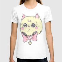 meow T-shirts featuring Meow by lOll3