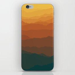 Ombré Range No. 3 iPhone Skin