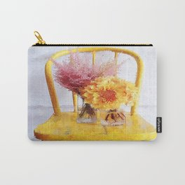 Yellow Chair Carry-All Pouch