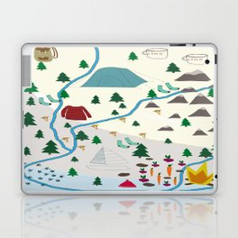 summer camp Laptop & iPad Skin