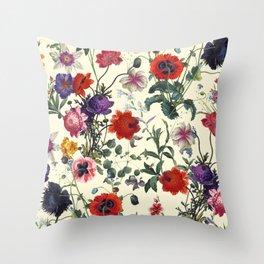 Secret Garden IV Throw Pillow