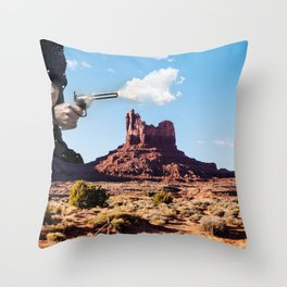 The Gods Must be Crazy Throw Pillow