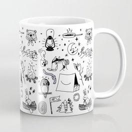 Animals Youth at Summer Camp Coffee Mug