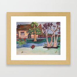 Oak Park Framed Art Print