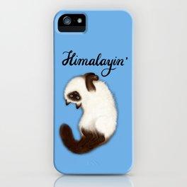 Himalayin' (Blue) iPhone Case