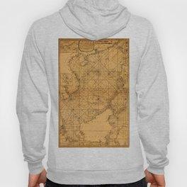 Map of South China Sea 1794 Hoody