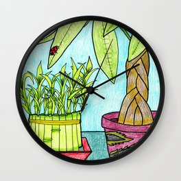 Luck & Fortune Wall Clock
