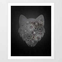 Wolfy  Art Print