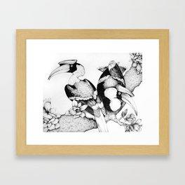 The Hornbills Framed Art Print