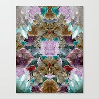 crystal Canvas Prints featuring Crystal by Joanna Tadger