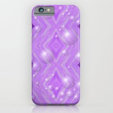 Purple Pattern Merry christmas Slim Case iPhone 6s