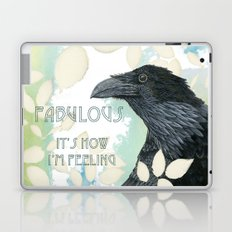 Feeling Fab Raven Laptop & iPad Skin