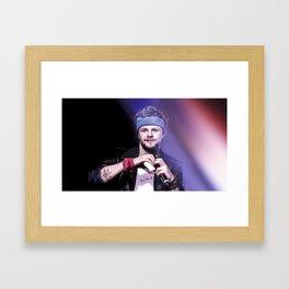 In your heart, in your heart, in your heart Framed Art Print