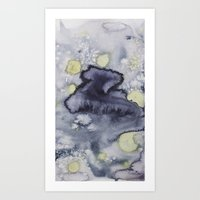van gogh Art Prints featuring Van Gogh by Living Out Loud Design