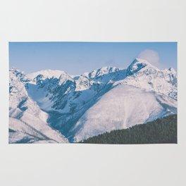Snow Capped Peaks Rug